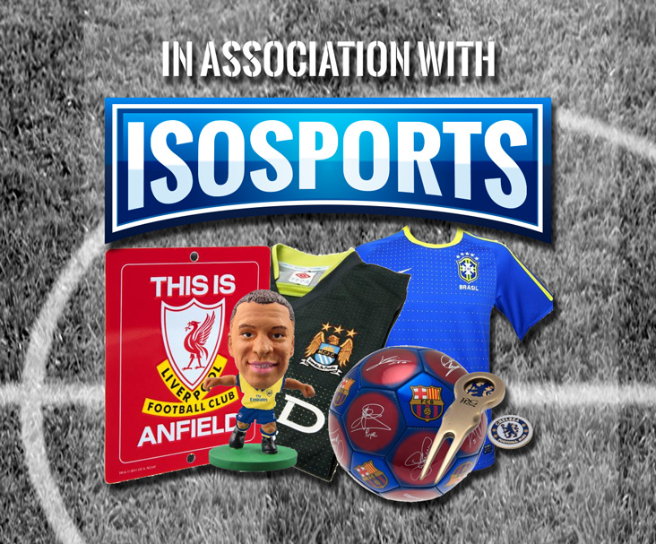 In Association With IsoSports - sport's memorabilia, equipment and accessories